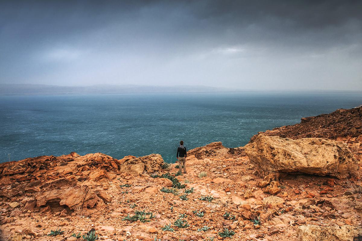 Biwak nad Morzem Martwym: w przedsionku piekła. Jordania – część 2.