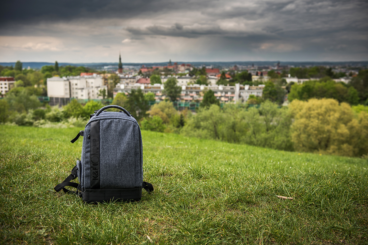 Recenzja plecaka fotograficznego K&F Concept (KF13.044)
