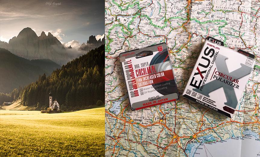Jesień w Alpach – recenzja filtrów polaryzacyjnych Marumi z serii EXUS oraz DHG Super