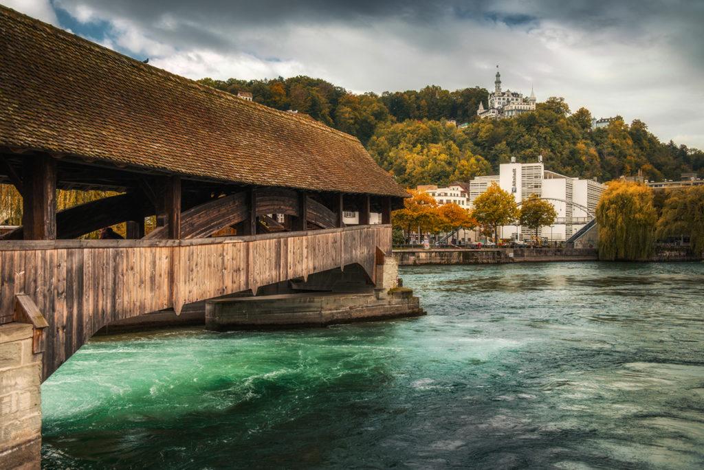 Spreuerbrücke. Co warto zobaczyć w Lucernie.