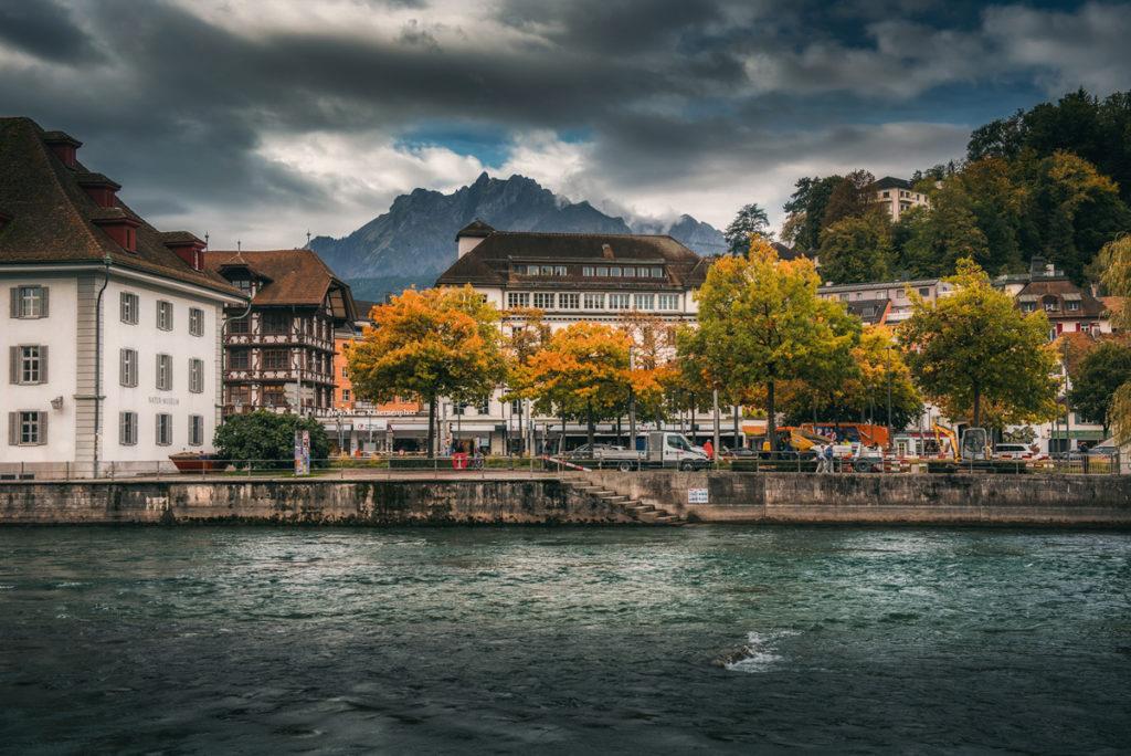 rzeka Reuss, Lucerna