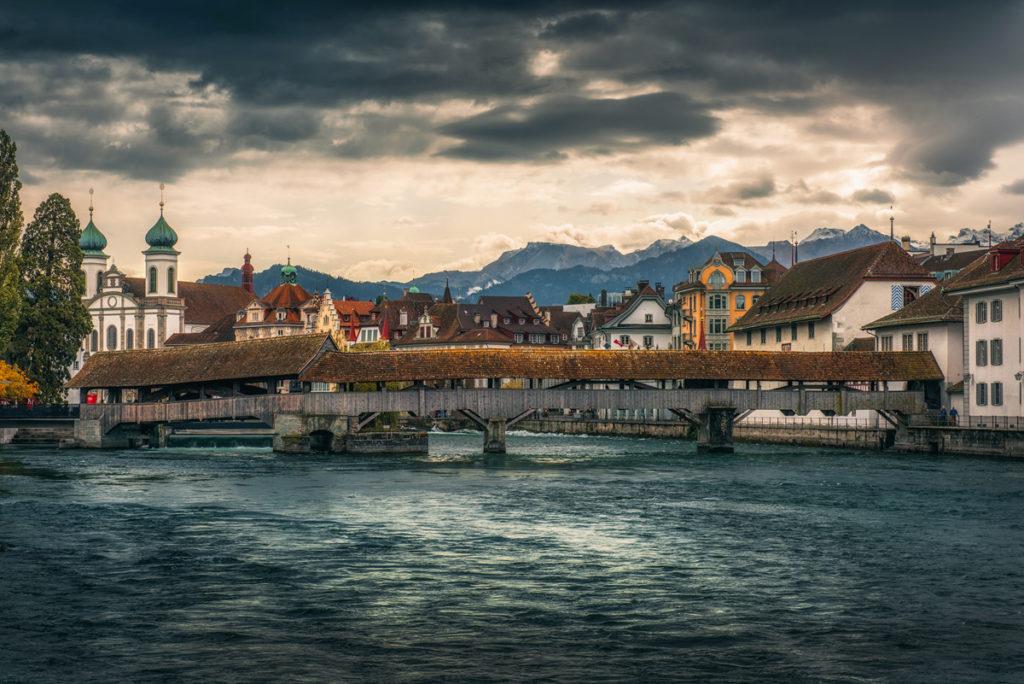 Spreuerbrücke, Lucerna