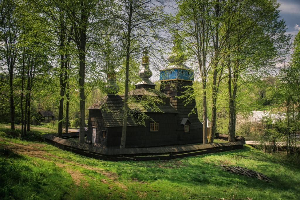 Drewniane cerkwie Beskidu Niskiego. Cerkiew greckokatolicka pw. Opieki Bogurodzicy w Bielance.