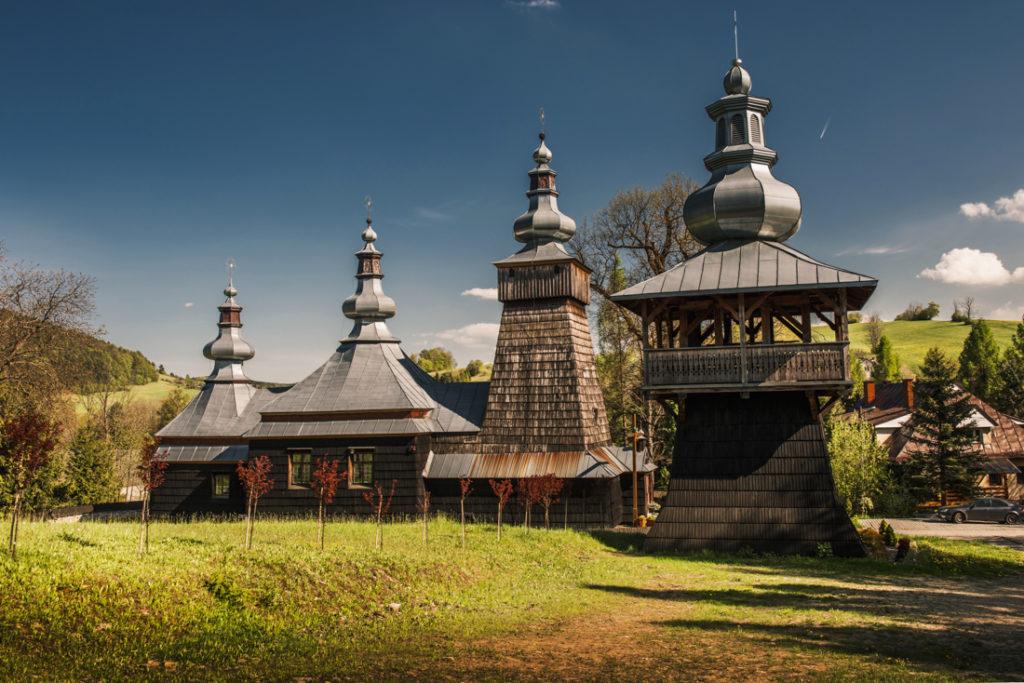 Drewniane cerkwie Beskidu Niskiego.  Kościół MB Nieustającej Pomocy w Bereście