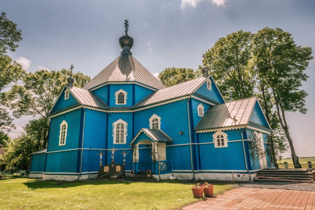 Stary Kornin - Cerkiew Św. Michała Archanioła. Najpiękniejsze cerkwie i meczety Podlasia.