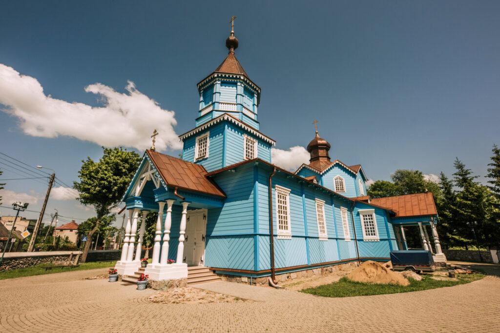 Cerkiew Podwyższenia Krzyża Pańskiego w Narwi. Najpiękniejsze cerkwie i meczety Podlasia.
