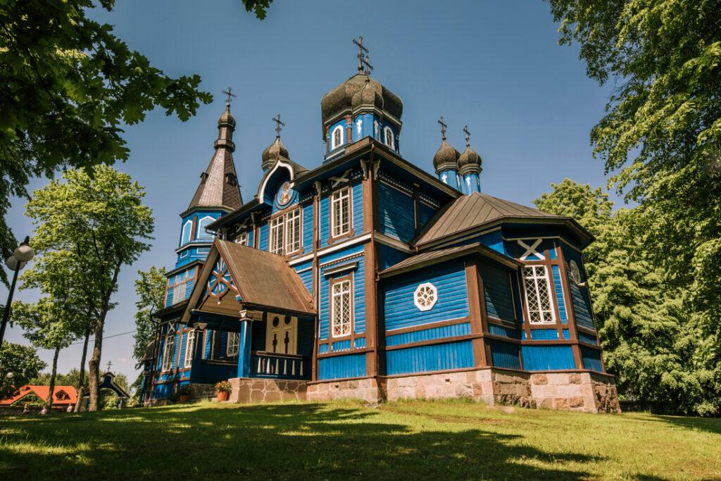 Cerkiew Opieki Matki Bożej w Puchłach. Najpiękniejsze cerkwie i meczety Podlasia.