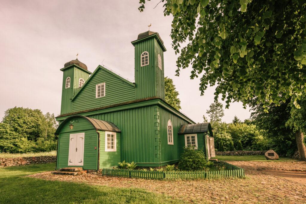 Meczet w Kruszynianach. Najpiękniejsze cerkwie i meczety Podlasia.
