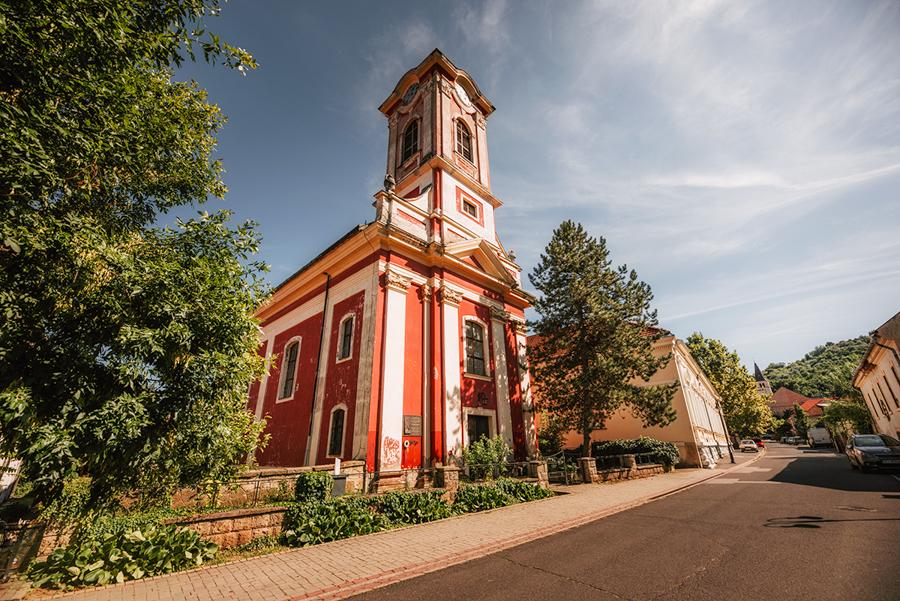 miasto Tokaj. Cerkiew prawosławna w Tokaju.