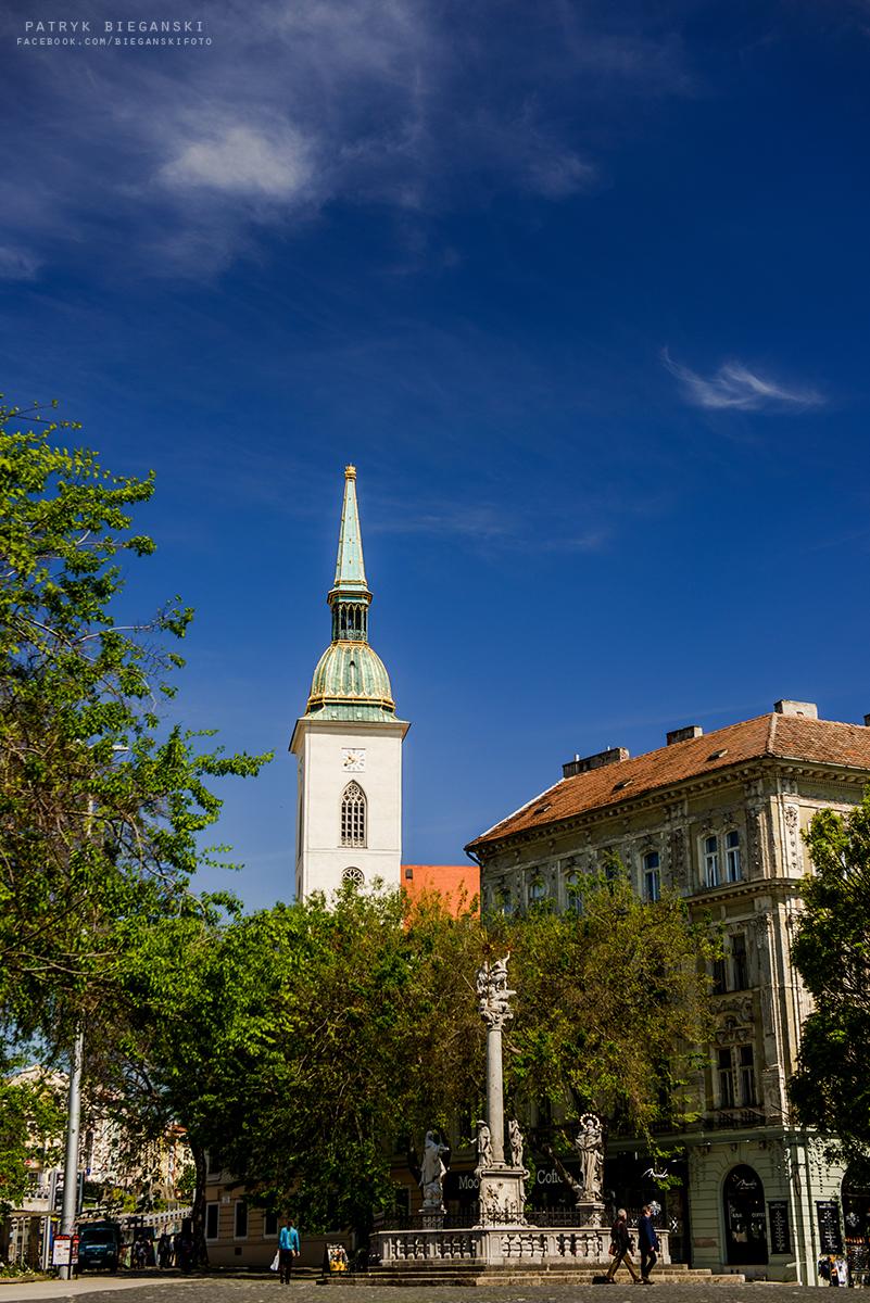 Co warto zobaczyć w Bratysławie w godzinę - katedra świętego Marcina w Bratysławie, największe atrakcje Bratysławy, Stare Miasto