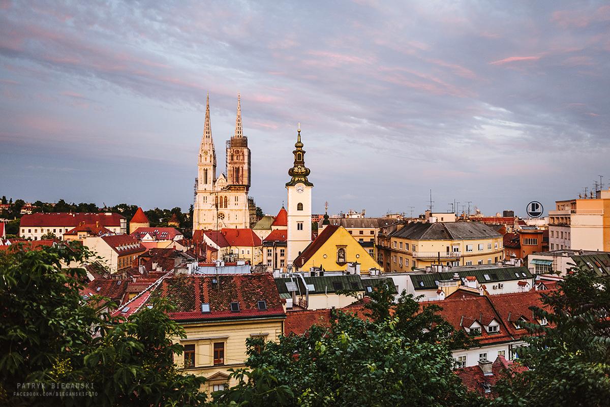 Co warto zobaczyć w Zagrzebiu - Katedra Najświętszej Maryi Panny w Zagrzebiu, największe atrakcje Zagrzebia, trasa do Chorwacji. Samochodem po Bałkanach, Bałkany samochodem.