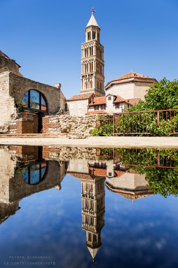 Wybrzeże Chorwacji, co warto zobaczyć w Chorwacji, atrakcje Splitu, co warto zobaczyć w Splicie- Pałac Dioklecjana. Podróż przez Bałkany samochodem.