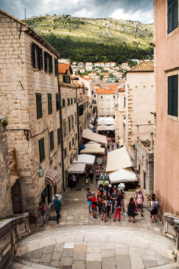 Wybrzeże Chorwacji, co warto zobaczyć w Chorwacji. Podróż przez Bałkany samochodem. Dubrownik - Stare Miasto. Największe atrakcje Dubrownika, co warto zobaczyć w Dubrowniku.