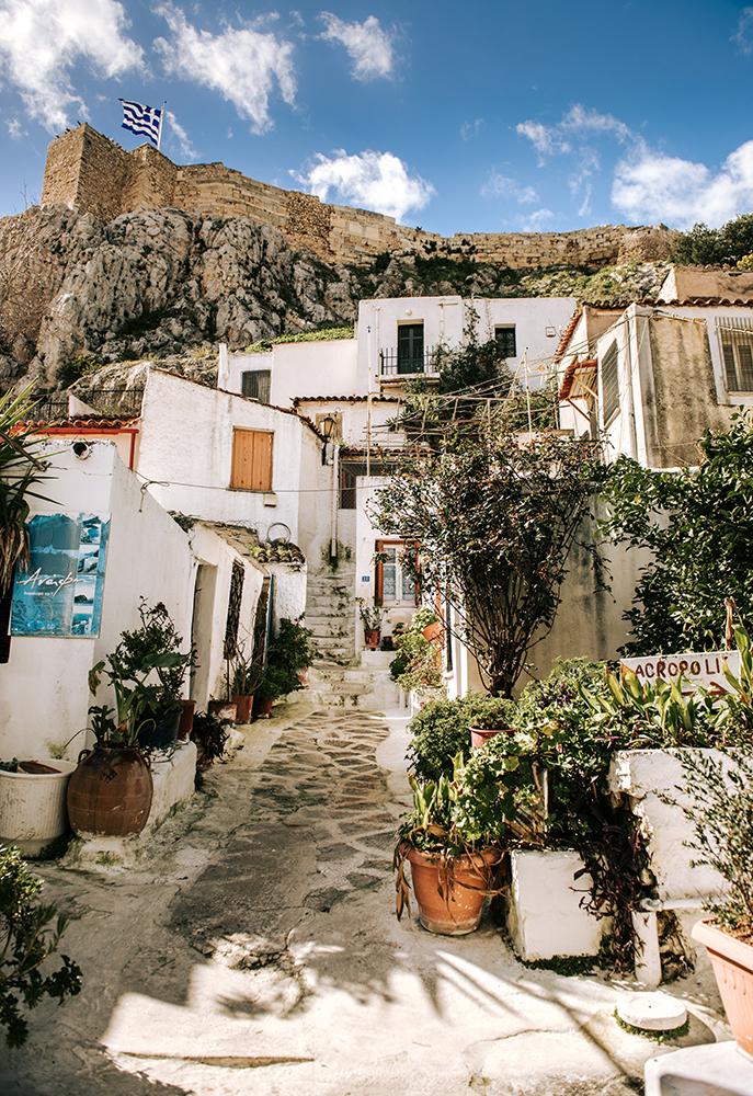Największe atrakcje Aten. Co warto zobaczyć w Atenach - Anafiotika