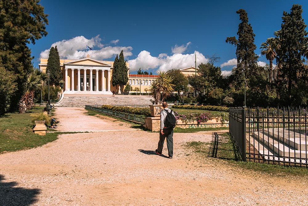 Zappenion w ateńskim Ogrodzie Narodowym