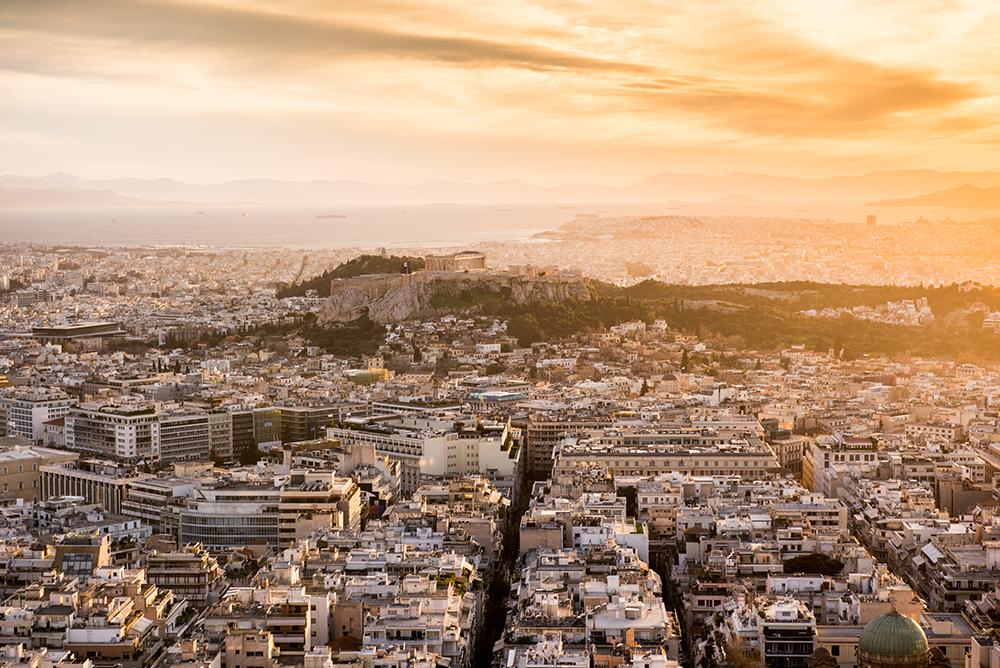Największe atrakcje Aten. Co warto zobaczyć w Atenach - panorama Aten z Likavitos