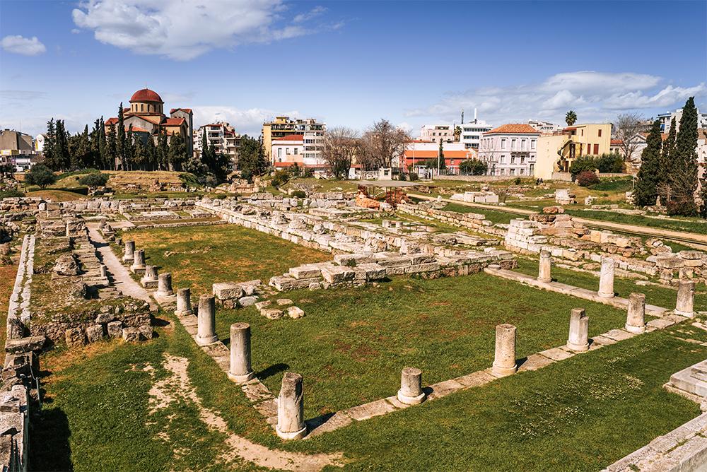 Największe atrakcje Aten. Co warto zobaczyć w Atenach - Kerameikos