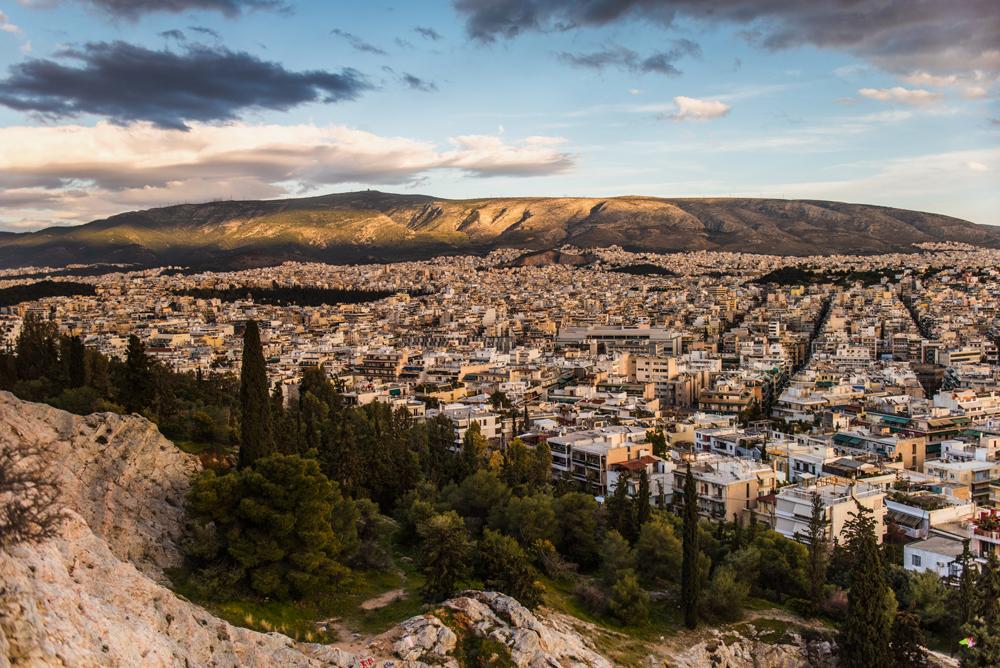 Największe atrakcje Aten - Pasmo górskie góry Hymet