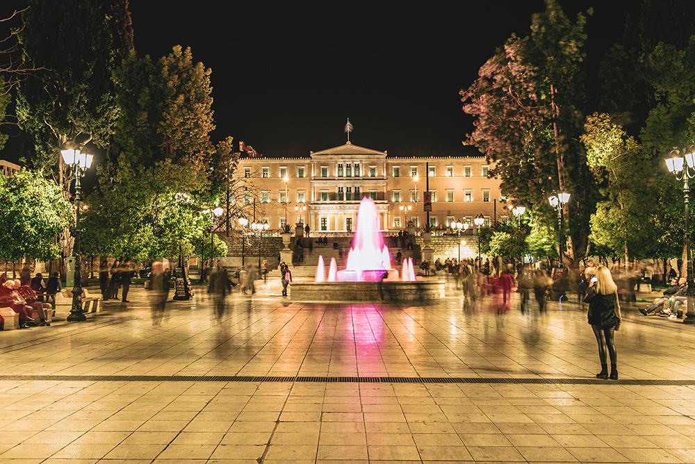 Największe atrakcje Aten. Co warto zobaczyć w Atenach - Plac Syntagma