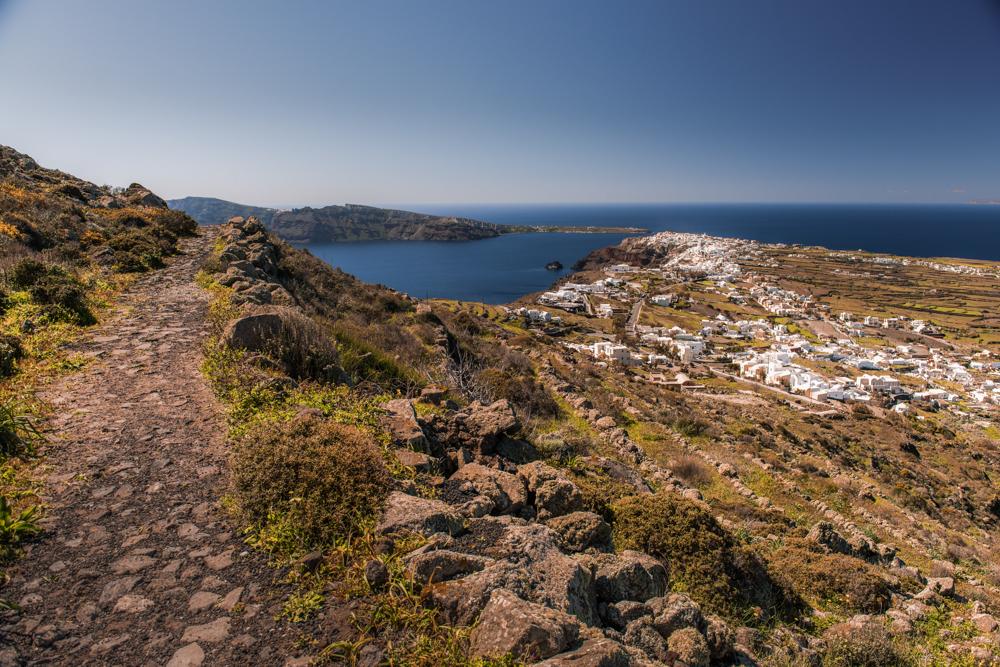 Santorini - Warto Zobaczyć. Szlak z Thiry do Oii. Najpiękniejsze miejsca Santorini.