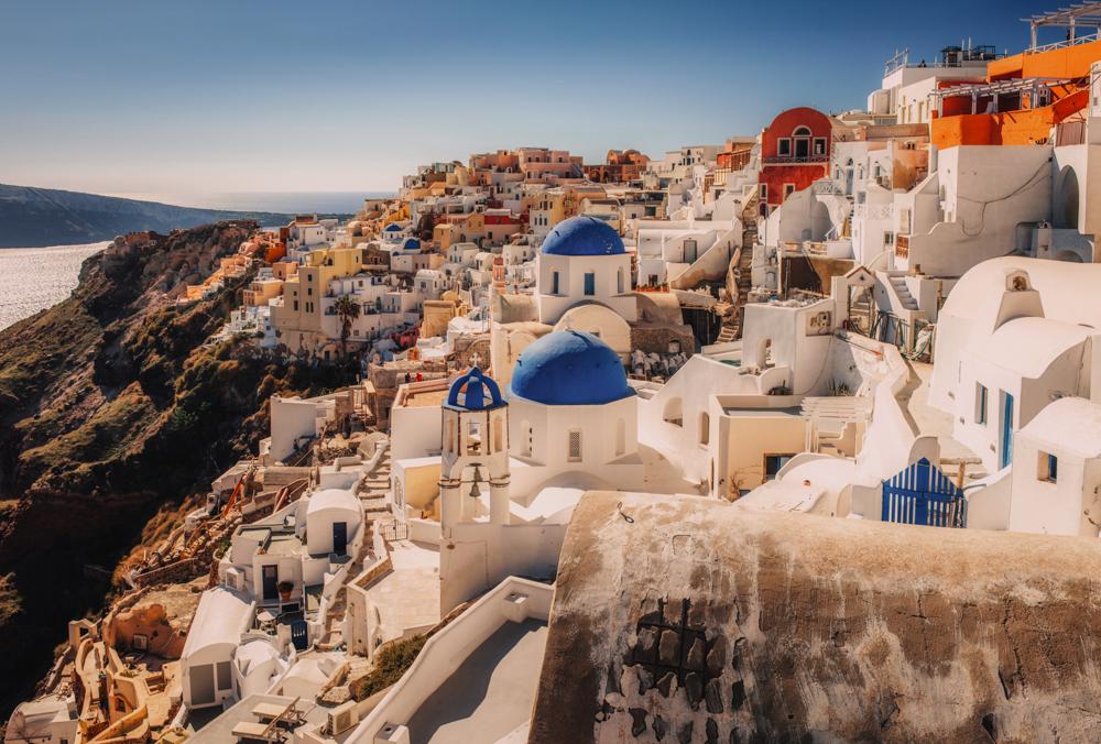 Największe atrakcje Santorini - Oia