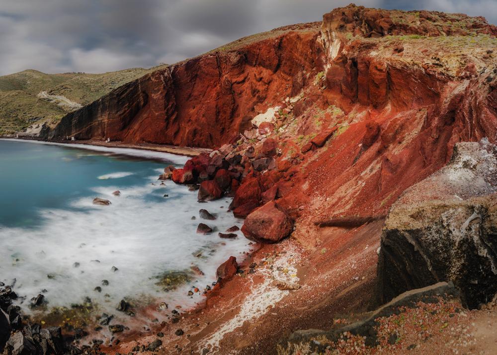 Najpiękniejsze miejsca Santorini. Co warto zobaczyć na Santorini? Czerwona plaża.