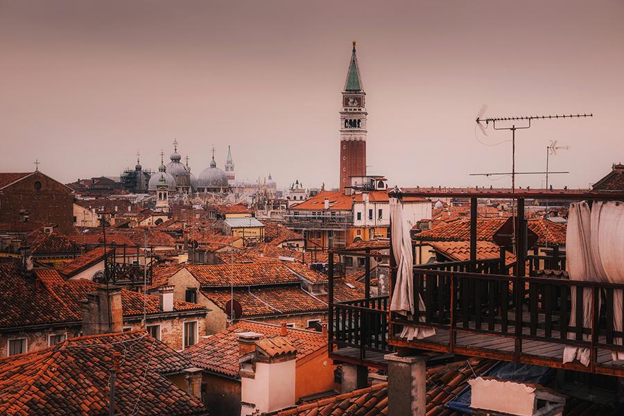 Widok na Wenecję z góry. Najciekawsze miejsca w Wenecji