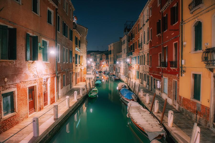 Najciekawsze miejsca w Wenecji. Wenecja nocą.