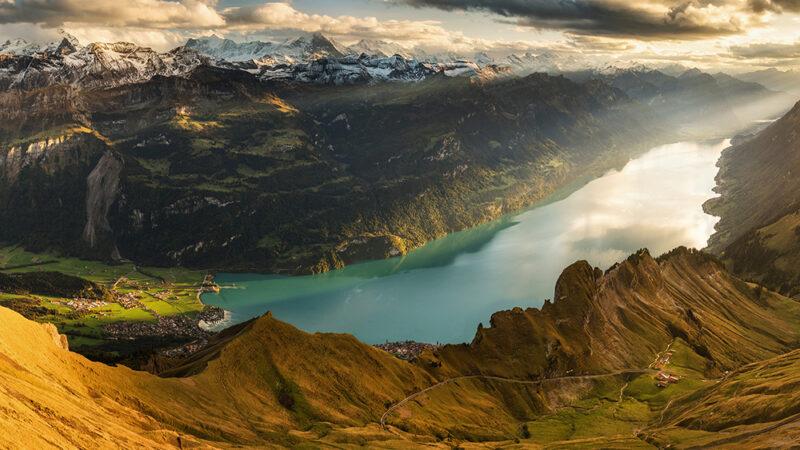 Szlak na Brienzer Rothorn. Rezerwat Biosfery UNESCO Entlebuch, Szwajcaria