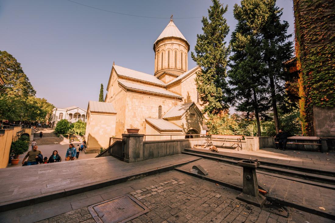 Największe atrakcje Tbilisi, co warto zobaczyć w Tbilisi? Katedra Sioni