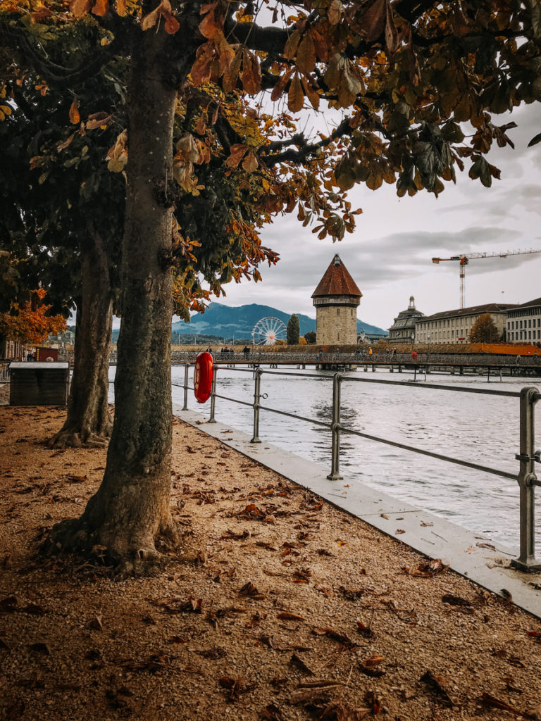 Kapellbrücke, Wasserturm, Lucerna