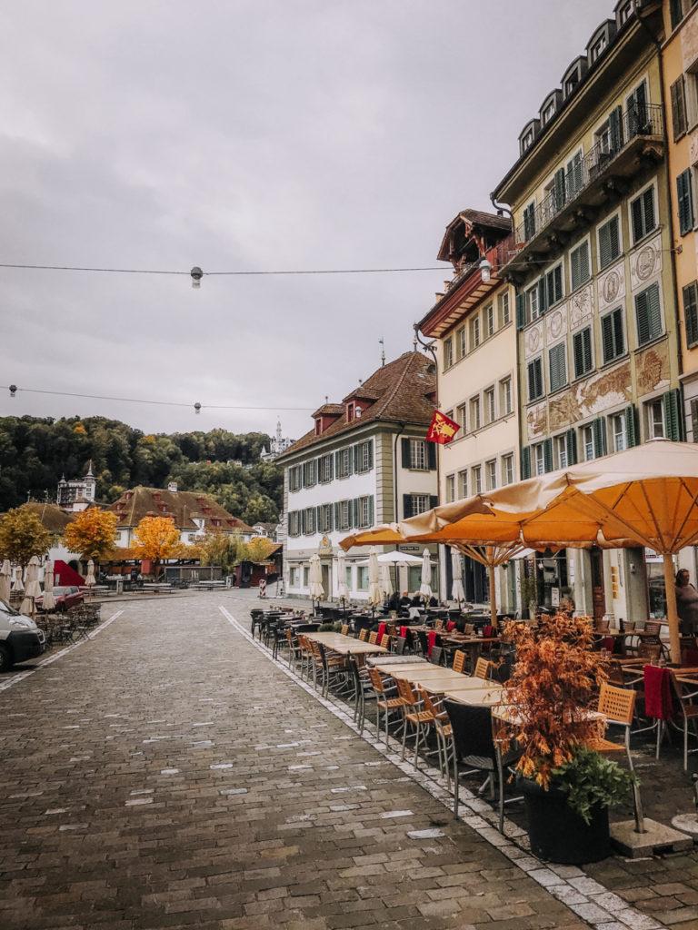 Mühlenplatz, Lucerna