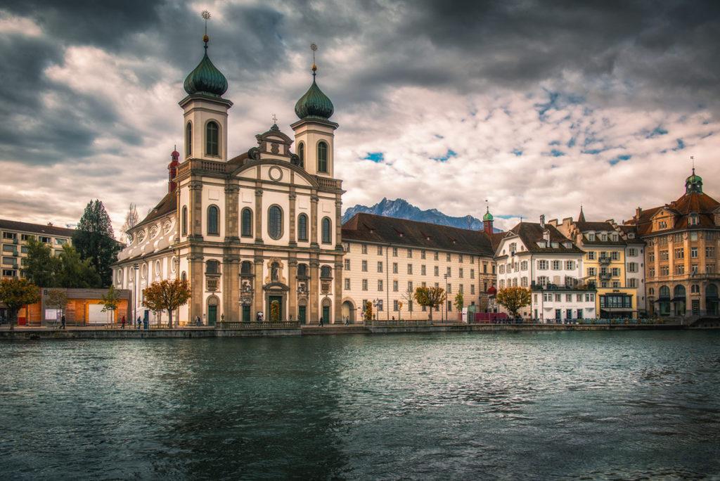 Kościół Jezuitów (Jesuitenkirche), Lucerna.