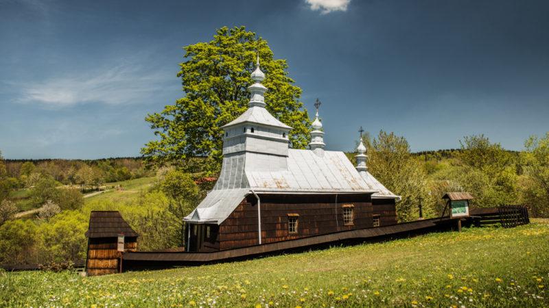 Beskid Niski: najpiękniejsze drewniane cerkwie. Łemkowszczyzna, cz. 1.