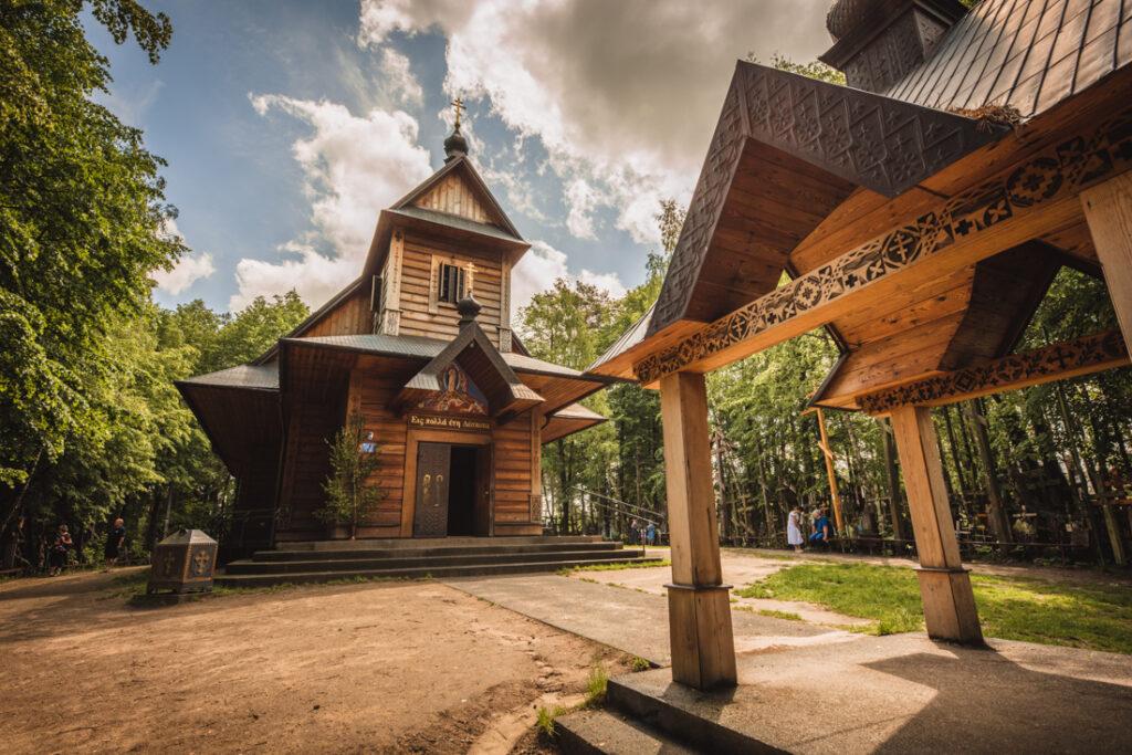 Cerkiew Przemienienia Pańskiego, Góra Grabarka. Najpiękniejsze cerkwie i meczety Podlasia.