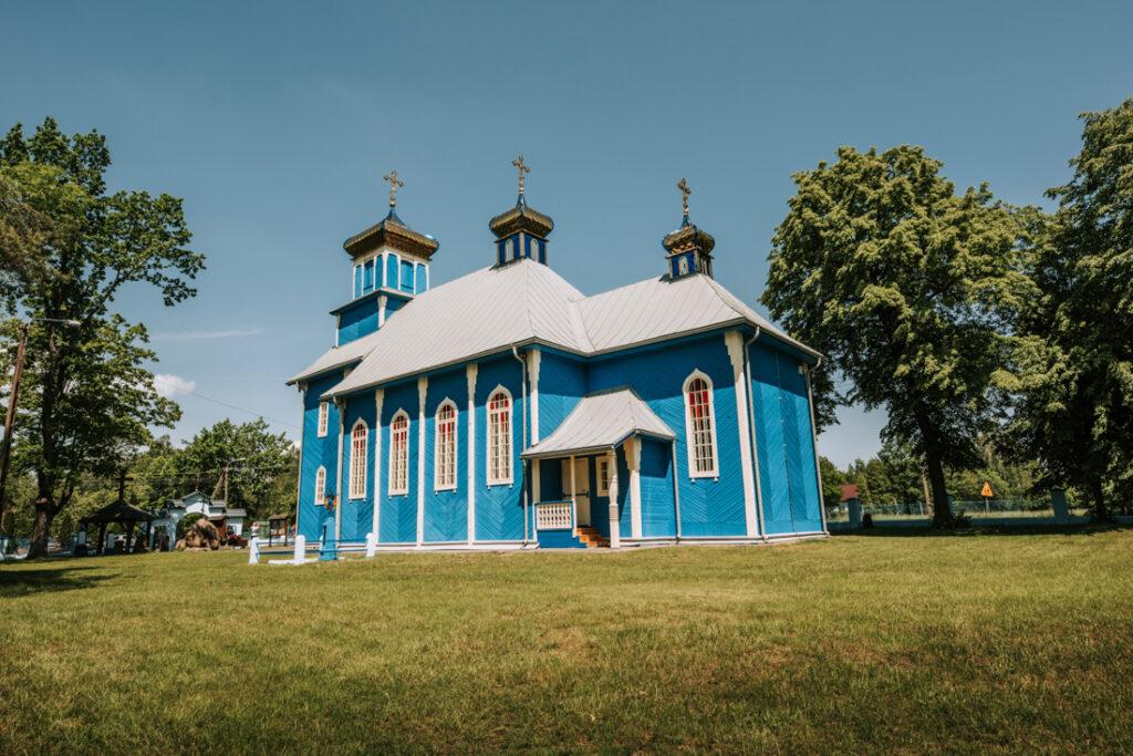Cerkiew w Dubiczach Cerkiewnych. Najpiękniejsze cerkwie i meczety Podlasia.