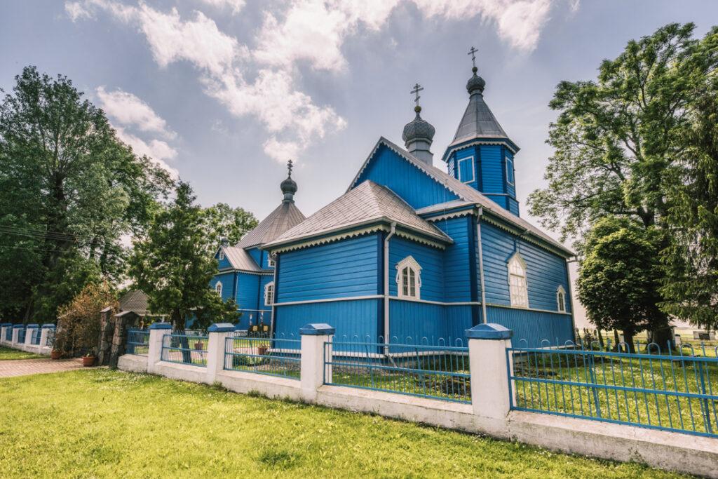 Cerkiew Świętej Anny w Starym Korninie. Najpiękniejsze cerkwie i meczety Podlasia.