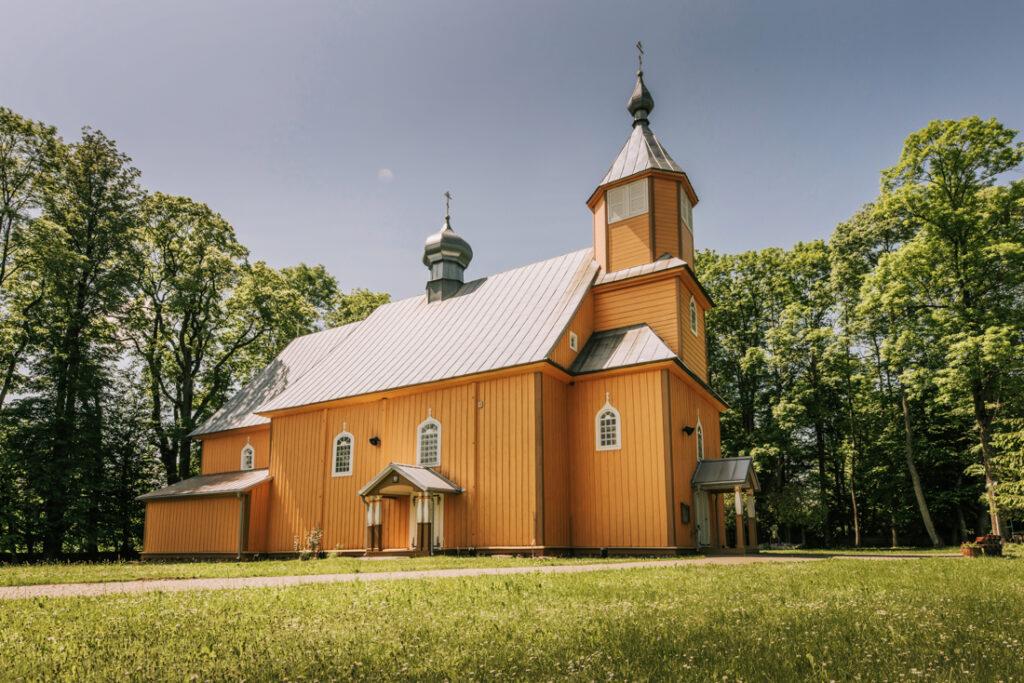 Cerkiew św. Apostoła Jana Teologa w Nowoberezowie. Najpiękniejsze cerkwie i meczety Podlasia.