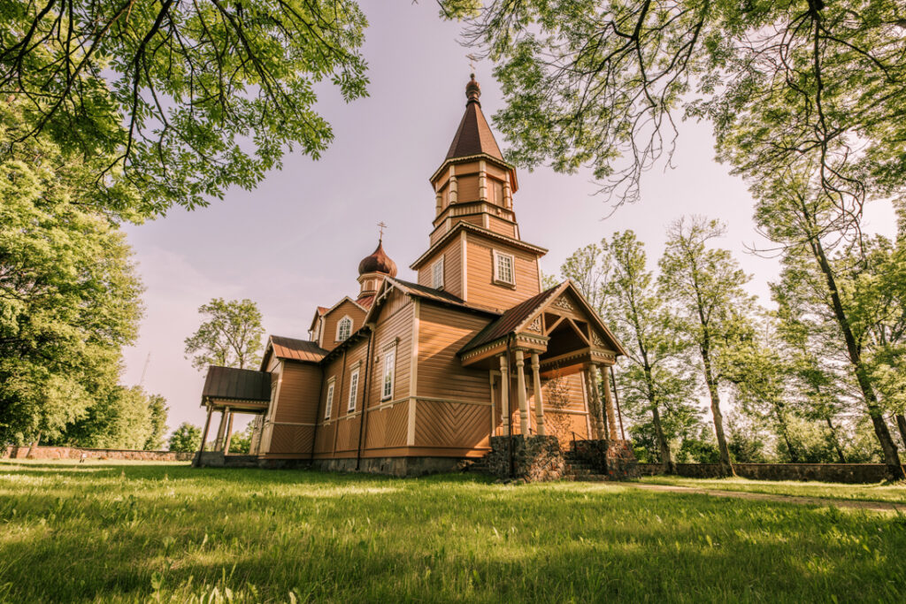 Cerkiew Narodzenia św. Jana Chrzciciela w Nowej Woli. Najpiękniejsze cerkwie i meczety Podlasia.