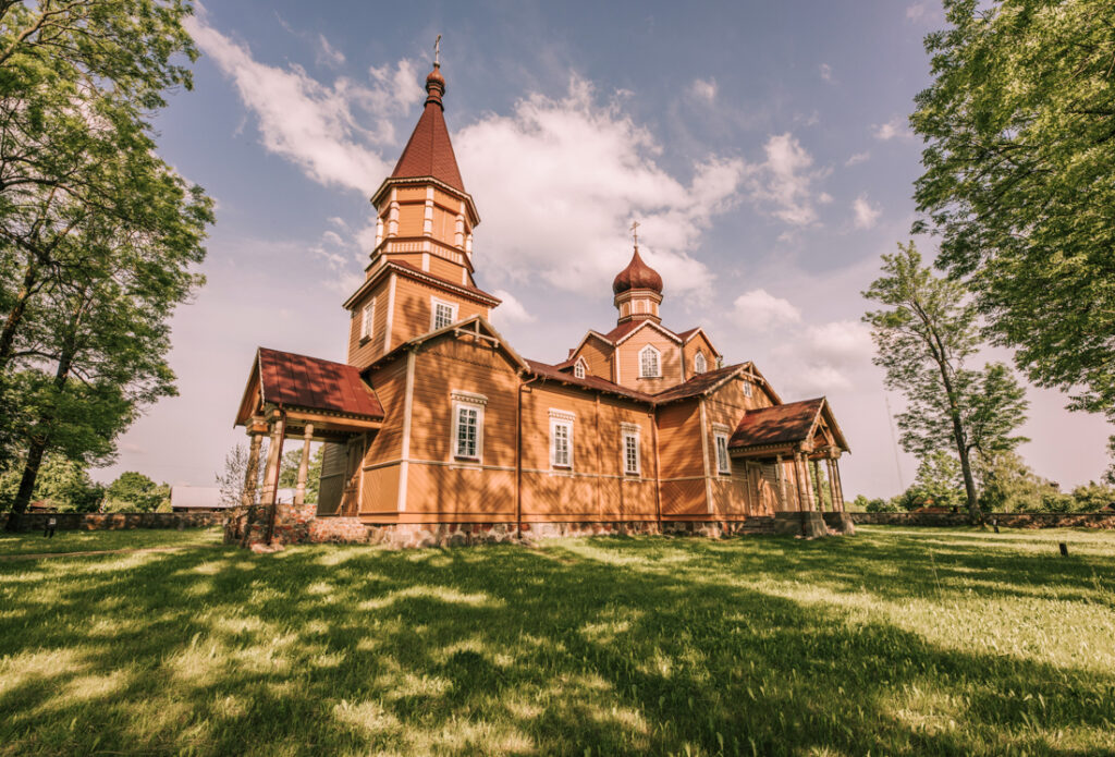 Cerkiew Narodzenia św. Jana Chrzciciela w Nowej Woli.