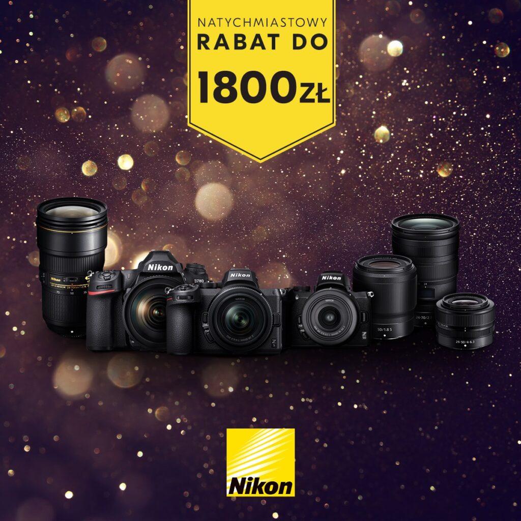 Natychmiastowy Rabat Nikon