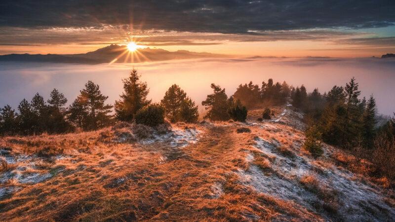 Wysoki Wierch w Pieninach – szlak od strony polskiej + zachód słońca z Nikonem Z7