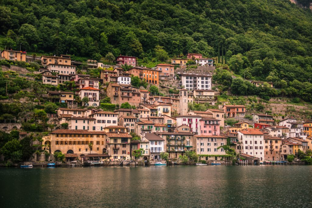 co warto zobaczyć w Ticino, największe atrakcje Ticino - Gandria