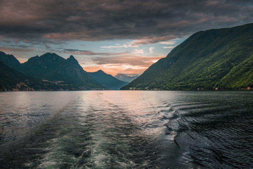 Panorama okolic Lago Lugano