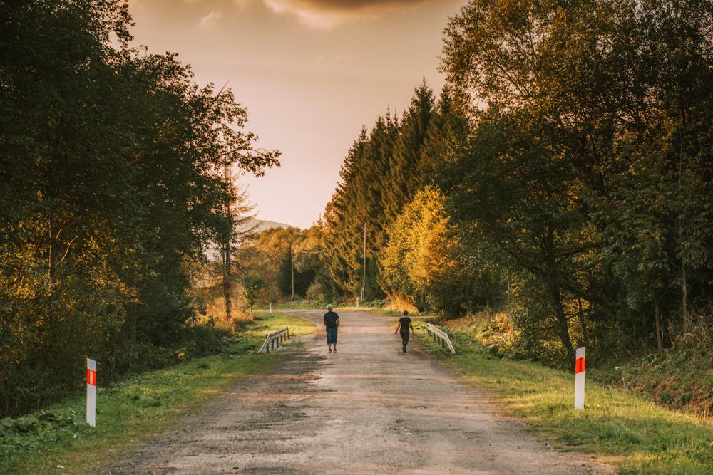 Wołosate - dawna wieś Bojkowska.