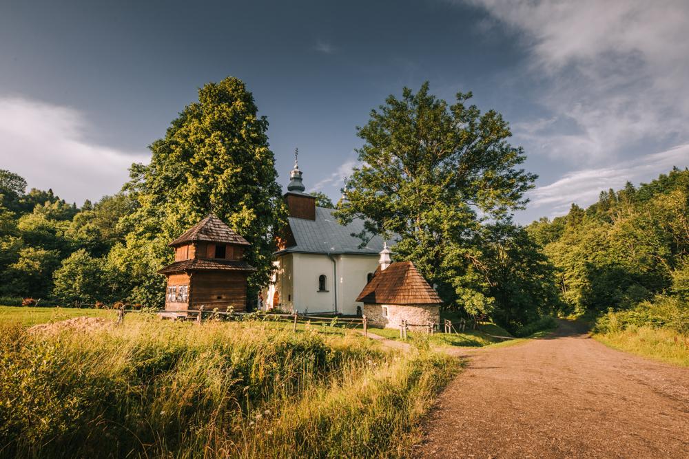 Cerkiew w Łopience - największe atrakcje w Bieszczadach, co warto zobaczyć w Bieszczadach.