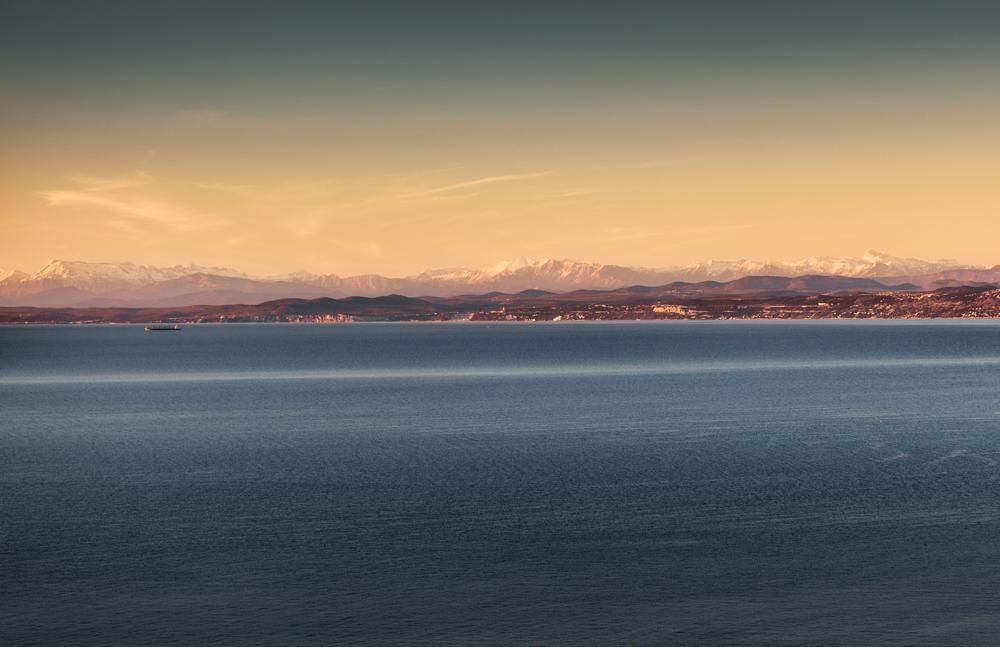 Wybrzeże Słowenii, słoweńskie wybrzeże Adriatyku, słowenia plaże, Słowenia Adriatyk, najpiękniejsze miejsca Słowenii, co warto zobaczyć w Słowenii, panorama, punkt widokowy nad Izola, Jagodje, Dobrava