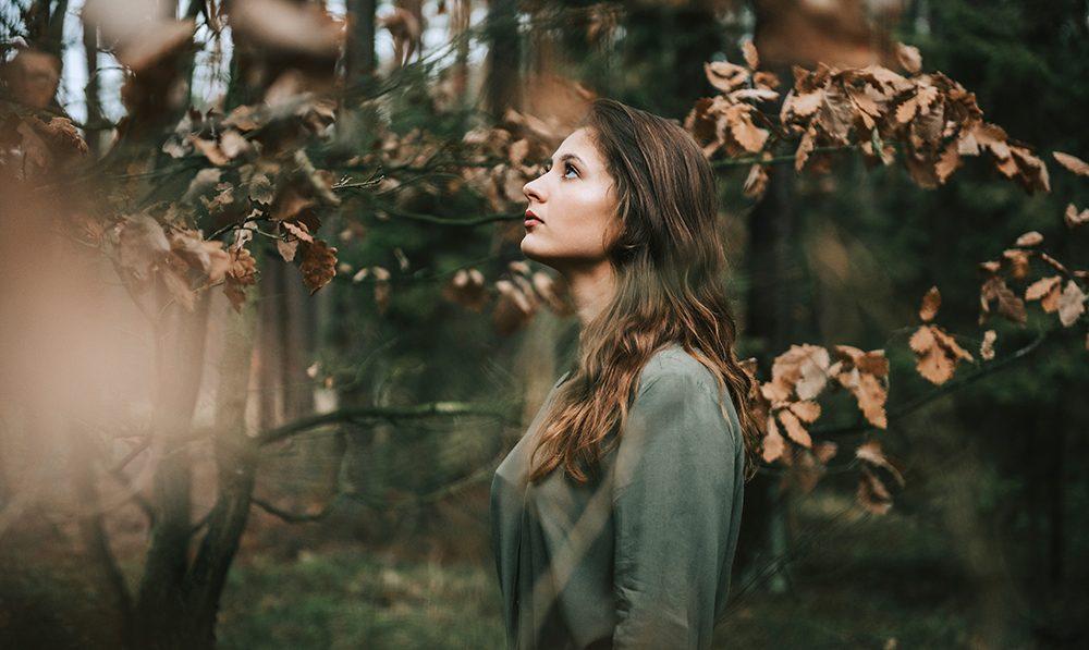 Leśna sesja z Marceliną