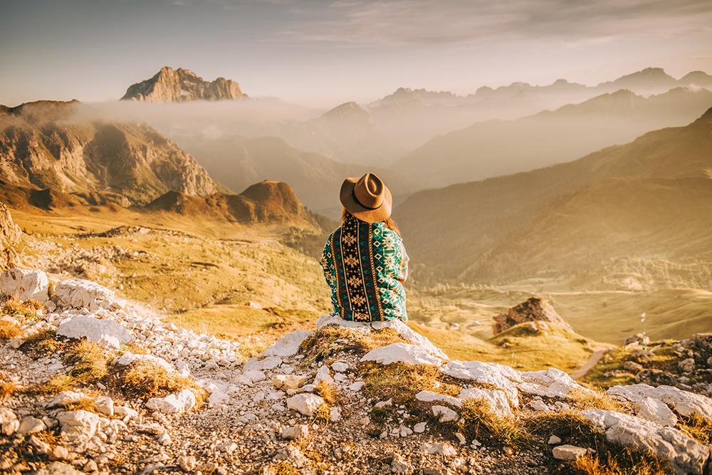 Sesja w Alpach, sesja w Dolomitach, sesja narzeczeńska