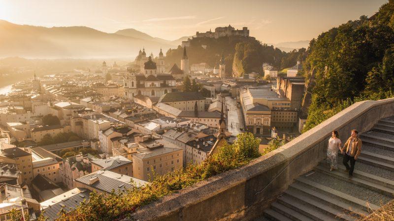 Sesja fotograficzna w Alpach z Anną i Michałem – Dolomity, Bawaria, Słowenia i Austria (Vogue)